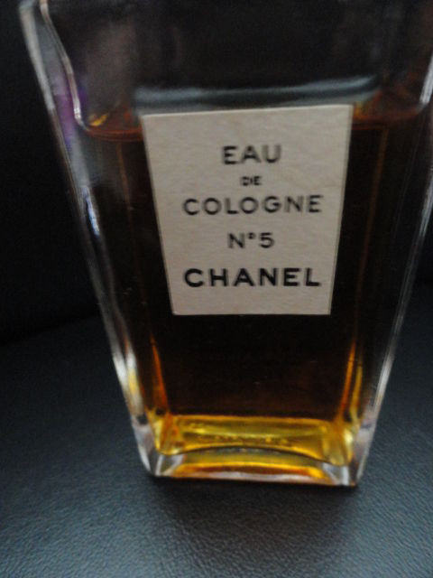 Vintage Chanel No 5 Eau De Cologne Chanel 2 Fl Oz More Than 3/4 Full Used