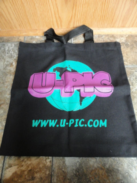 EBAY LIVE 2008 Chicago New U-PIC Tote 13x13 3/4